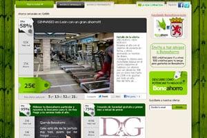 web para móviles de diseño creativo para ofertas 2