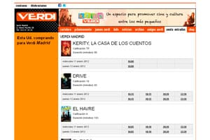 nueva página web 2.0 de diseño creativo para cines-verdi 3