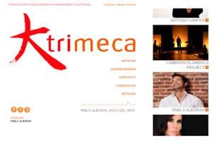 nueva página web 2.0 de diseño creativo para trimeca 1