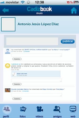 diseño de aplicaciones para iPhone y Android cadizbook 2