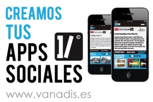 diseno de aplicacion movil para iphone y android de red social para empresas