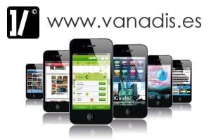 diseno de aplicaciones moviles, vanadis empresa de desarrollo de app iphone android