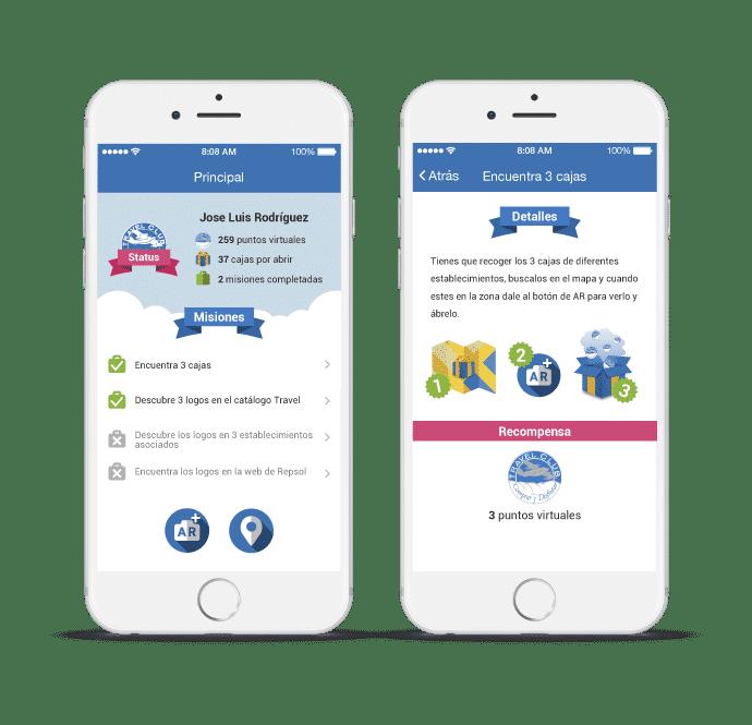 Imagen de la app para TravelClub